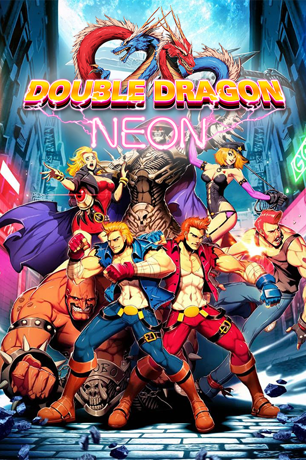 Grid For Double Dragon Neon By Johnredwood Steamgriddb
