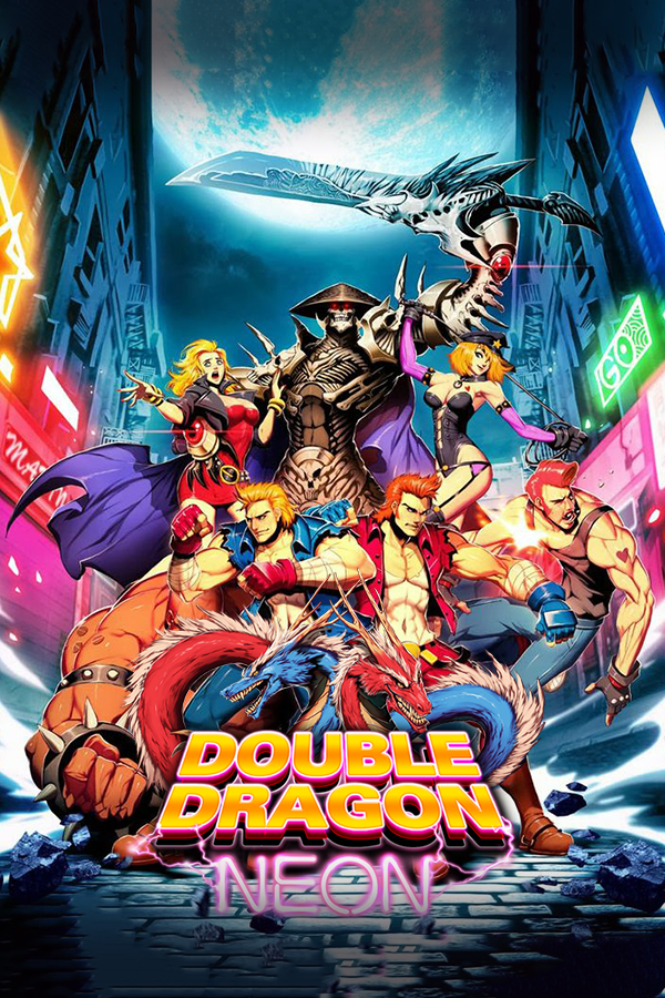 Double Dragon Neon Steamgriddb