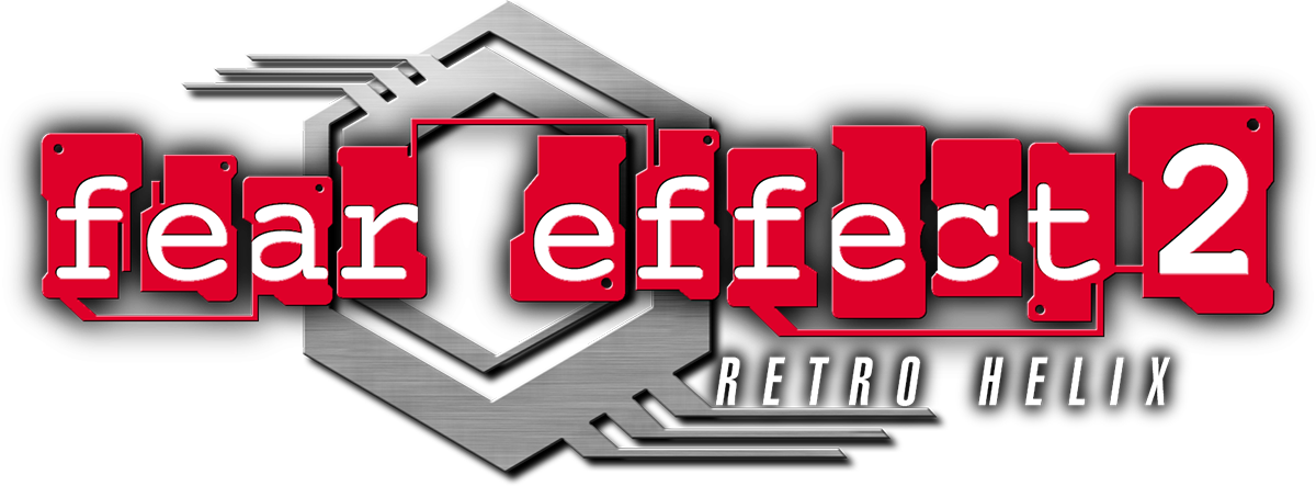 Logo for Fear Effect 2: Retro Helix by RealSayakaMaizono - SteamGridDB