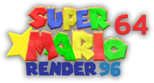 Logo For Super Mario 64 Render96 By Talkypup Steamgriddb
