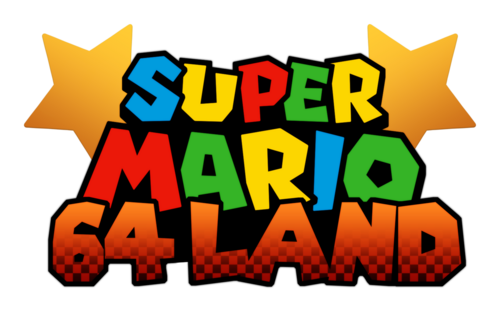 Logo For Super Mario 64 Land By Alfonso72394 Steamgriddb