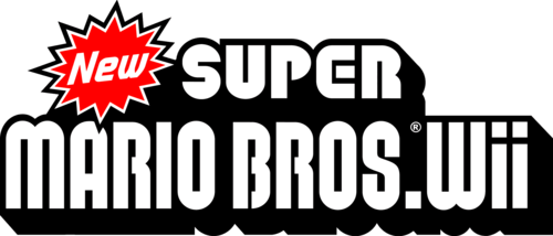 Logo For New Super Mario Bros Wii By Anon Steamgriddb